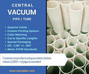 Custom Central Vacuum Pipe Manufacturer