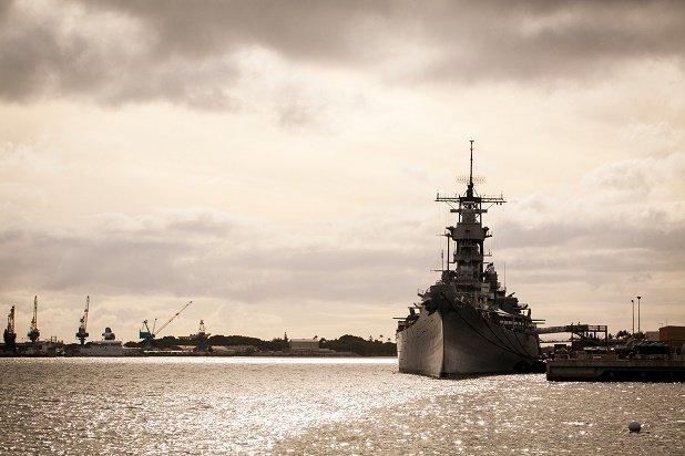Navy Boat - Neoprene