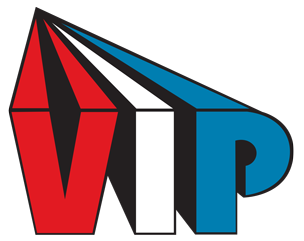 vip rubber logo large