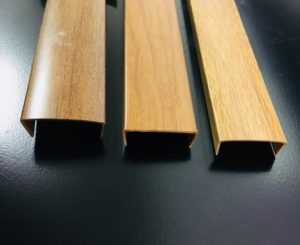 Wood Grain Plastic Extrusion Vip Rubber and Plastic Company