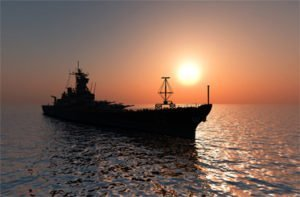 military and defense ship