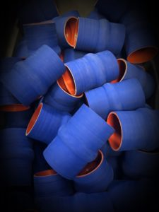 Reinforced Silicone Hump Hose