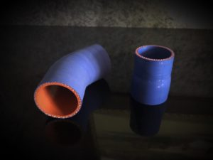 transition hose reinforced silicon