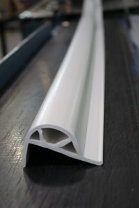 Extruded PVC Dock Bumper White