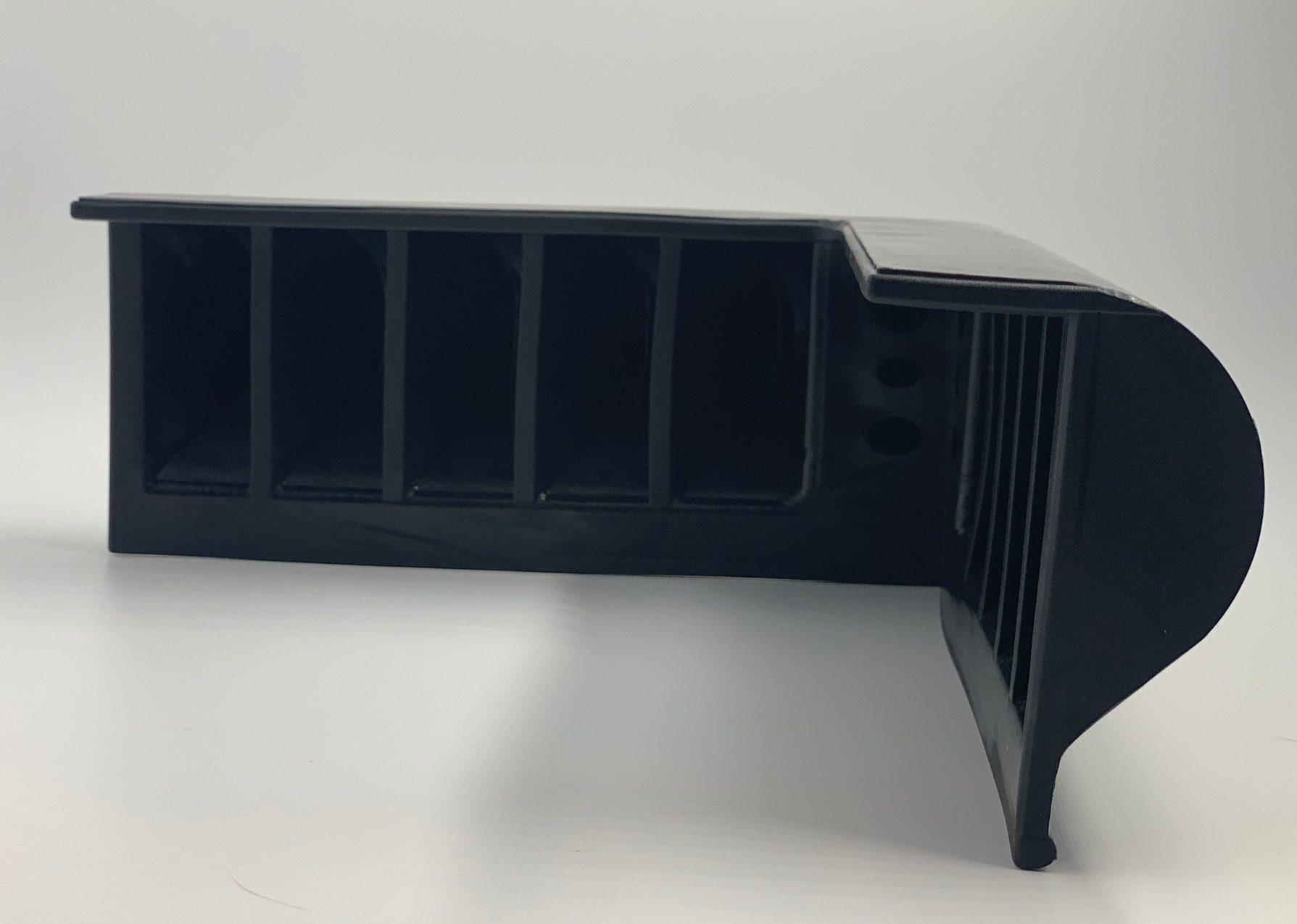 Black Dock Bumper Corner PVC Vinyl Marine